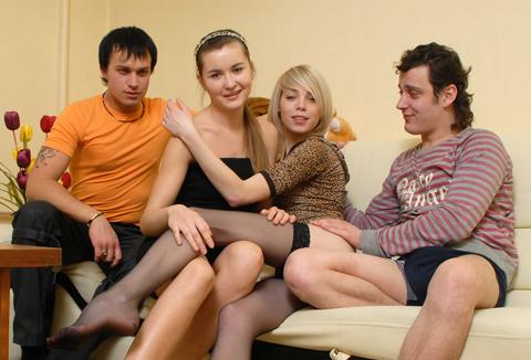 Estudantes Sexo em Grupo e Orgias